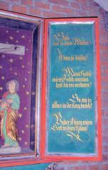 Letzte Worte Jesu #2 - Kirche, Altar, Triptichon, Letzte Worte, Jesus, Platt, Plattdeutsch, Religion, Glaube, Tod, Sterben