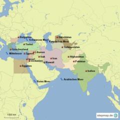 Eroberungen Alexanders d. Gr. - Alexander der Große, Hellenismus, Feldzug
