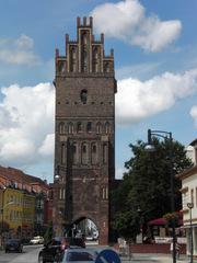 Anklam Steintor - Anklam, Steintor, Stadttor, Wahrzeichen, Backsteingotik, Torturm