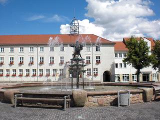 Anklam Marktplatz#1 - Anklam, Marktplatz, Rathaus