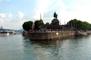 Ansichten von Koblenz - Deutsches Eck #2 - Koblenz, Deutschland, Mosel, Rhein