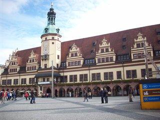 Leipzig Altes Rathaus - Leipzig, Rathaus, alt, Markt, Marktplatz, Renaissance