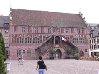 Mulhouse Ancien Hôtel de Ville - Frankreich, Mulhouse, Mühlhausen, hôtel de ville, Rathaus, Renaissance, Architektur