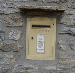 Boîte à lettres - Postkasten, boite a lettres, levée