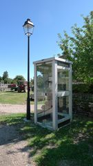 Telefonzelle - Telefon, Telefonzelle, cabine téléphonique