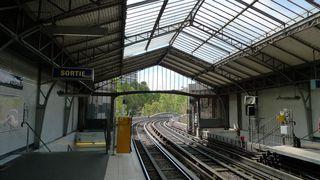 Metrostation in Paris - Paris, Metro, métro, Fortbewegungsmittel, Verkehr