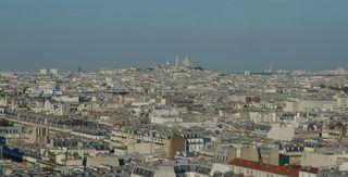 Sacré Coeur - Paris, Frankreich, Montmartre, Stadtbezirk, Basilika, SacreCoeur, Kirche, Wallfahrtskirche, Sakralbau