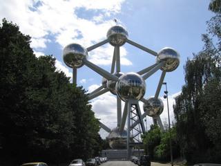 Atomium#1 - Atomium, Wahrzeichen, Brüssel, Belgien, Weltausstellung, Expo, 1957, Atom, Atommodell, Atomzeitalter
