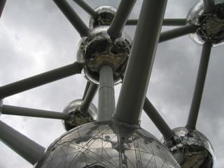 Atomium#2 - Atomium, Wahrzeichen, Brüssel, Belgien, Weltausstellung, Expo, 1957, Atom, Atommodell, Atomzeitalter