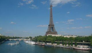 Eiffelturm - Eiffelturm, Paris, Sehenswürdigkeit, Turm, tour Eiffel, Wahrzeichen, Symbol, Stahlfachwerkturm, Stahl, hoch
