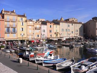 Saint Tropez - Frankreich, Côte d'Azur, Saint Tropez, Hafen, port