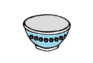 Schüssel - Schüssel, Müslischüssel, Geschirr, Anlaut Sch, Halbkugel, Volumen, Wörter mit ü, Wörter mit Doppelkonsonanten
