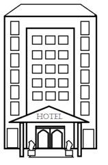 Hotel - Gebäude, Stadt, Hotel, Unterkunft