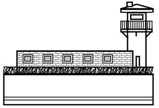 Gefängnis - Gebäude, Stadt, Gefängnis, Vollzugsanstalt, Knast