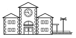 Bahnhof - Gebäude, Stadt, Bahnhof, Bahngleis