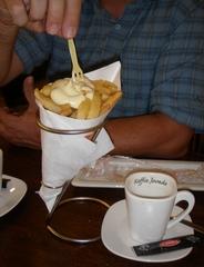 Pommes frites - Pommes frites, Pommes, Mayo, Mayonnaise, Fett, Tüte