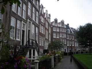 Beginenhof Amsterdam#1 - Wohngemeinschaft, wohnen, Haus, Amsterdam, Innenhof, Begine, Nonne, leben
