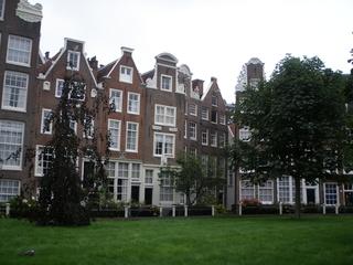 Beginenhof Amsterdam #2 - Beginen, Beginenhof, Amsterdam, Wohngemeinschaft, Lebensgemeinschaft, Haus, Häuser