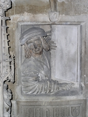 Dom zu St. Stephan Wien- Österreich - Dom, Gotik, Stephansdom, Stefansdom, Wahrzeichen, Wien, Fenstergucker, Relief, Halbplastik, Kirche, Dom, Meister Pilgrim, Meister Pilgram