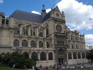Paroisse Saint-Eustache - Frankreich, civilisation, Paris, Kirchen, Pfarrkirche, paroisse, église, Saint-Eustache