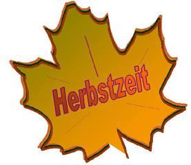 Herbstzeit - Ahornblatt, Herbst, clipart, bunt, Herbstzeit, Blatt, herbstlich