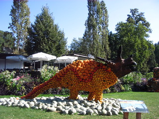 Kürbisdeko Dinos#2 - Kürbis, Dekoration, Dino