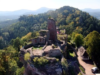 Burg Altdahn #3 - Burg, Mittelalter, Pfalz, Architektur, Sandstein