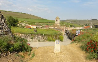 Jakobsweg#2 - Jakobsweg, Wegweiser, Pilgerweg, Jakobsmuschel, Spanien, Santiago de Compostela, Pilger, pilgern