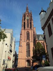 Kaiserdom in Frankfurt am Main - Dom, Bischofskirhce, Kaiserdom, Frankfurt, Sakralbau