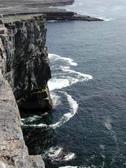 Irland - Cliffs of Moher 2 - Irland, Küste, Klippen, Meer, hoch, steil, gefährlich, Cliffs of Moher, Brandung