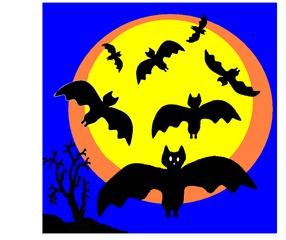 Lina Flatterschnell - Fledermaus, Halloween, gruseln, Sport, Fledermäuse, fliegen, flattern
