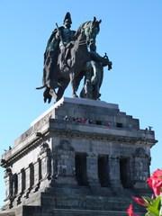 Wilhelm I. am Deutschen Eck - Kaiser, Wilhelm I., Deutsches Eck, Koblenz, Denkmal, Reiterbild, Reiterstandbild, Reiterfigur