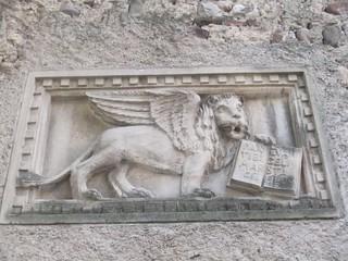 Markuslöwe - Markus, Venedig, Löwe, geflügelt, Relief, plastisch
