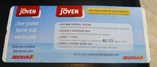 Iberiajoven - Iberia, joven, Werbung, jung