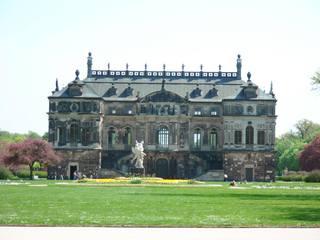 Dresden - Palais im Großen Garten - Palais, Garten, Dresden, Lustschloss, Schloss, Park, Garten, Sachsen, Architektur