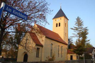 Kirche St. Peter in Gera-Leumnitz#2 - Kirche, Kirchturm, Thüringen, Gera, Bauwerk, Gebäude, romanisch, Romanik