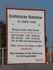 Drehbrücke Malchow#1 - Drehbrücke, Malchow, Architektur, Brücken, technisches Denkmal