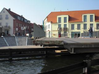 Drehbrücke Malchow#3 - Drehbrücke, Malchow, Architektur, Brücken, technisches Denkmal