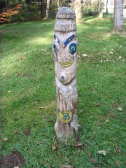 Skulpturenweg #8 - Skulpturenweg, Holzskulptur, Skulptur, Kunst, Holz, Schnitzhandwerk, Bildhauerei