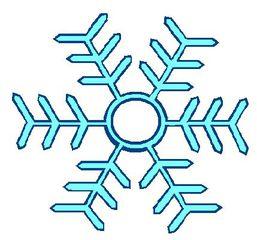 Schneeflocke#1 - Schneeflocke, Schneestern, Schneekristalle, Eiskristalle, schneien, Winter, winterlich, Schnee, kalt, Eis, Grafik, Einzahl, Singular, Eiskristall, Schneekristall