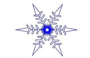 Schneeflocke#3 - Schneeflocke, Schneekristalle, Eiskristalle, Schneestern, schneien, Winter, winterlich, Schnee, kalt, Eis, Grafik, Einzahl, Singular, Eiskristall, Schneekristall