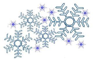 Schneeflocken#2 - Schneeflocken, Winter, winterlich, Schnee, kalt, Eis, Schneeflocke, Schneekristalle, Eiskristalle, schneien, Grafik, Schneestern, Eiskristall, Schneekristall
