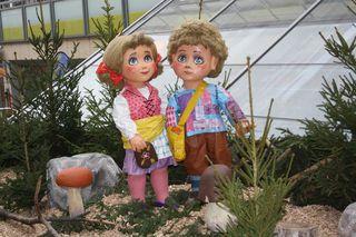Hänsel und Gretel#2 - Hänsel, Gretel, Geschwister, Märchen, Märchenfiguren, Grimm, Brüder Grimm, Gera, Weihnachtsmarkt, Märchenmarkt, Markt