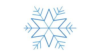 Schneestern#3 - Schneeflocke, Schneekristalle, Eiskristalle, Schneestern, schneien, Winter, winterlich, Schnee, kalt, Eis, Grafik, Einzahl, Singular, Eiskristall, Schneekristall