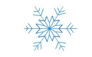 Schneestern#6 - Schneeflocke, Schneekristalle, Eiskristalle, Schneestern, schneien, Winter, winterlich, Schnee, kalt, Eis, Grafik, Einzahl, Singular, Eiskristall, Schneekristall