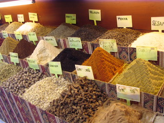 Gewürzbasar - Handel, Markt, Basar, Gewürze, Verkauf