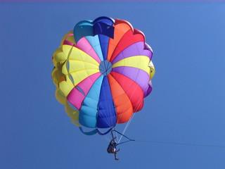 Parasailing - Parasailing, fliegen, Fallschirm, steuerbar, Auftrieb, Sport, Freizeitsport, Physik, gleiten