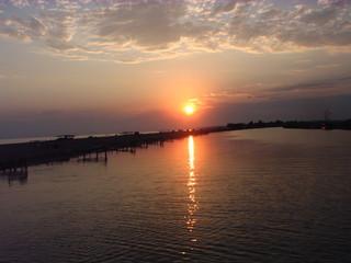 Sonnenuntergang#2 - Sonnenuntergang, Meer, Abend, Meditation, Horizont, Himmelserscheinung, Sonne, Abendrot