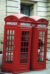 Telephone Booths - Telefonzelle, Telephone booths, Telephone Booth, Zuneigung, Schreibanlass, telefonieren, Gespräch, Kommunikation, öffentlich, Münztelefon, Telefon, englisch