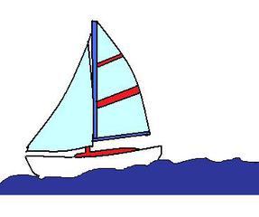 Segelboot - Segel, Segelboot, Wassersport, Urlaub, Meer, Sport, Anlaut S, Dreieck, segeln